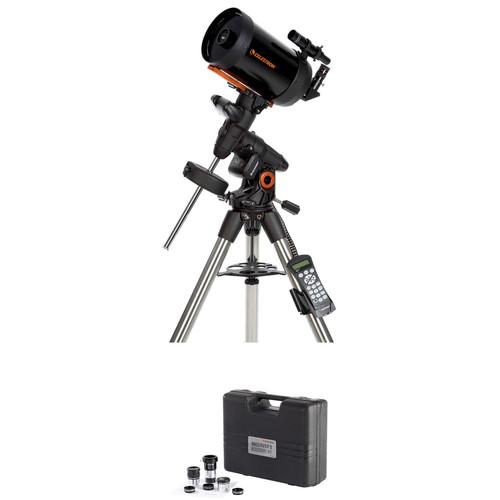 "Celestron Advanced VX 6"" f/10 SCT GoTo Telescope with Observer's Kit"