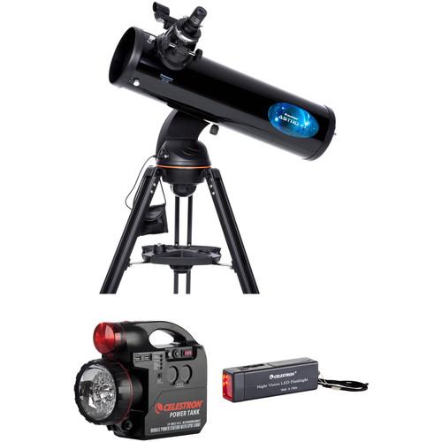 Celestron Astro Fi 130mm f/5 Reflector Telescope with PowerTank Kit