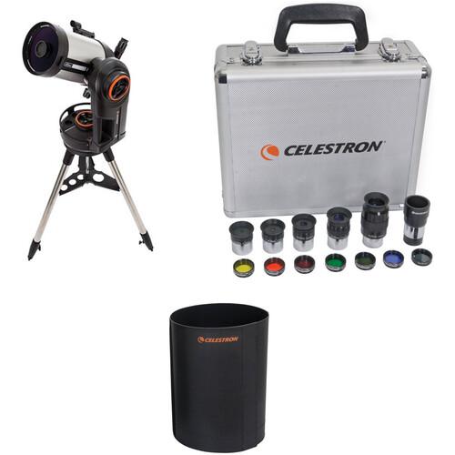 Celestron NexStar Evolution 6 150mm f/10 Schmidt-Cassegrain GoTo Telescope and Accessories Kit