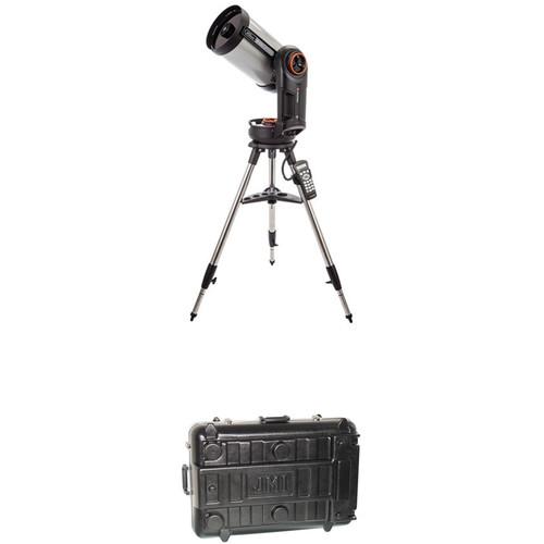 Celestron NexStar Evolution 8 203mm f/10 Schmidt-Cassegrain GoTo Telescope and Case Kit