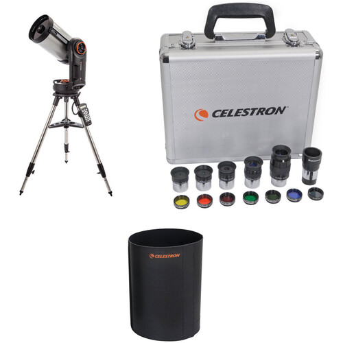 Celestron NexStar Evolution 8 203mm f/10 Schmidt-Cassegrain GoTo Telescope and Accessory Kit