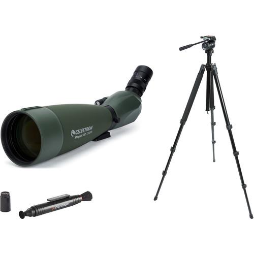 Celestron Regal M2 22-67x100 ED Spotting Scope Kit (Angled Viewing)