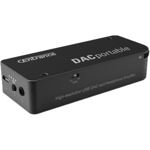 CEntrance DACportable Self-Powered DAC and Headphone Amplifier