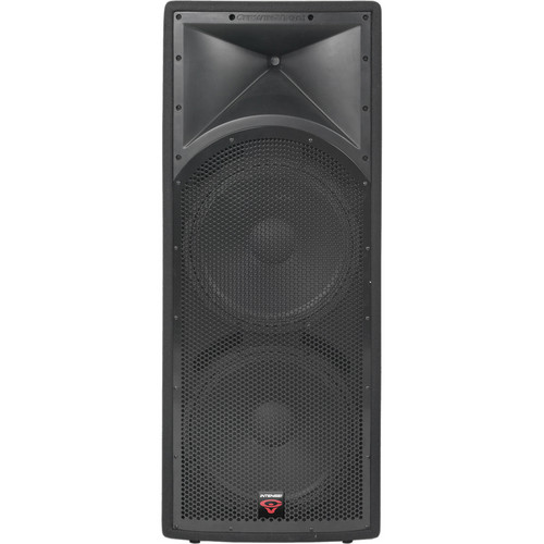 "Cerwin-Vega INT-252 V2 Dual 15"" 2-Way Full Range Portable PA Speaker"