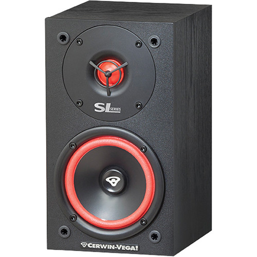 "Cerwin-Vega SL-5M 5.25"" 2-Way Bookshelf Speakers (Pair)"