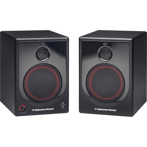 "Cerwin-Vega XD5 - 5"" Active Desktop Monitor System (Pair)"
