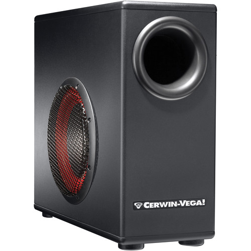 "Cerwin-Vega XD8s - 8"" Subwoofer with Built-In Amplifier"