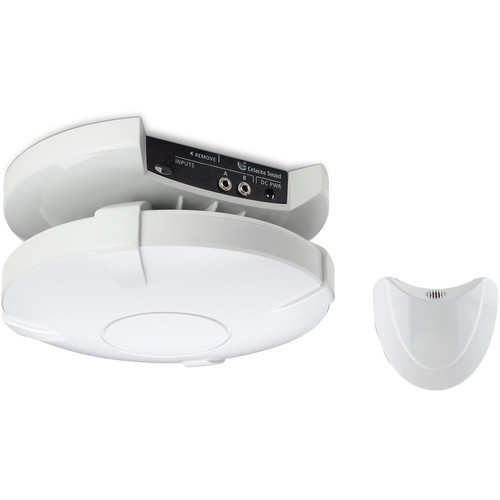 Cetacea Sound Astronaut 40W Ceil Speaker/Bracket,2I/12'Desktop PS,Orbiter Wireless Pendant Mic/Integrated Receiver