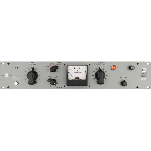 Chandler Abbey Road RS124 Compressor with Stepped Input/Output Switches (Matched Pair)