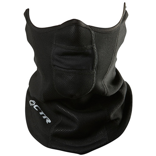 CHAOS-CTR Tempest Neck/Face Protector (L/XL, Black)