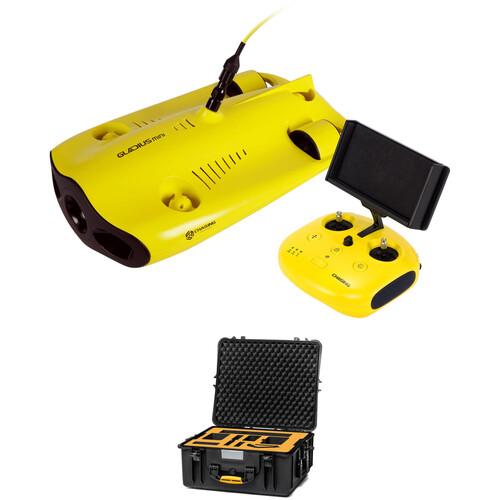 CHASING Gladius Mini Underwater ROV, Tether & Hard Case Kit