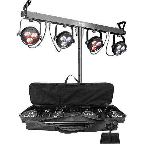 CHAUVET DJ 4BAR LT USB Complete Wash Lighting System Kit