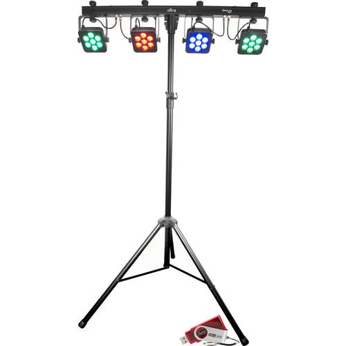 CHAUVET DJ 4BAR Tri USB Wash Lighting Kit