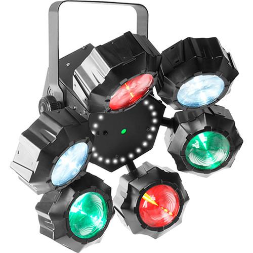 CHAUVET PROFESSIONAL Beamer 6 FX - Beams/Strobe/Lasers Multi-Effect LED Fixture