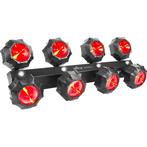 CHAUVET PROFESSIONAL Beamer 8 - Beams/Strobe Multi-Effect LED Fixture