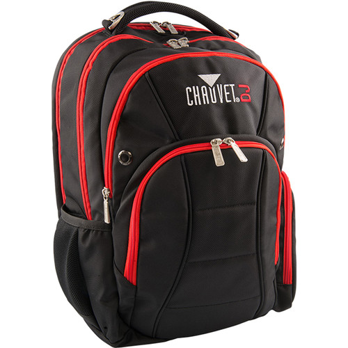 "CHAUVET DJ CHS-BPK Backpack for 15.4"" Laptop with Accessories"
