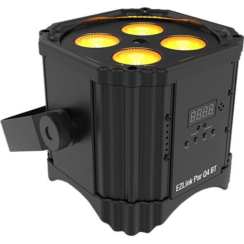 CHAUVET DJ EZLink Par Q4 BT - TRUE Wireless RGBA LED Par with Bluetooth