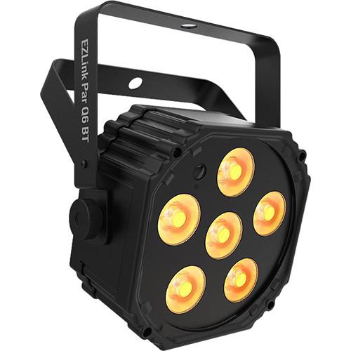 CHAUVET DJ EZLink Par Q6 BT - True Wireless RGBA LED Par with Bluetooth