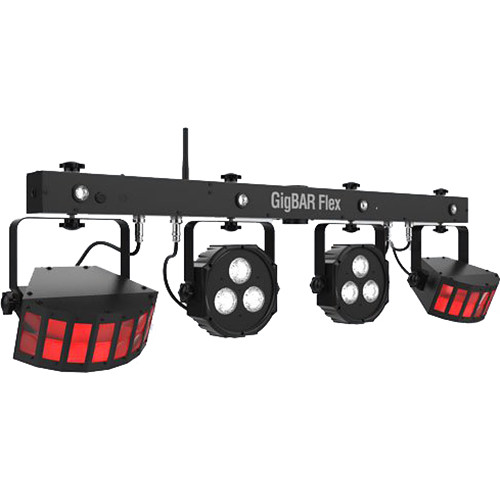 CHAUVET DJ GigBAR Flex 3-in-1 Pack-n-Go Lighting System