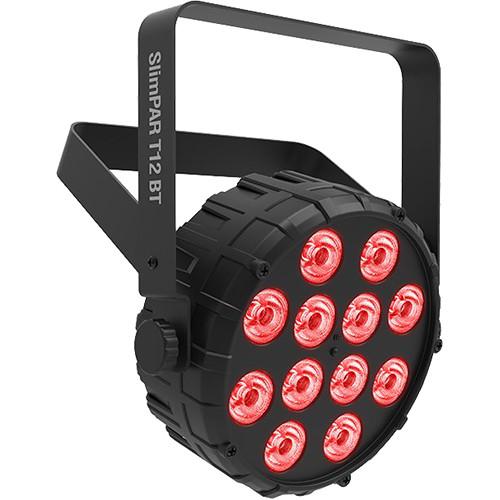 CHAUVET DJ SlimPAR T12 BT Compact Wash LED (RGB) PAR with Bluetooth