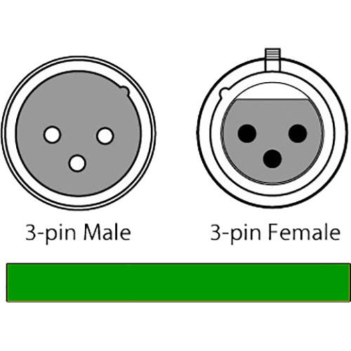 CHAUVET DJ 3-Pin DMX Cable (Black, 10')