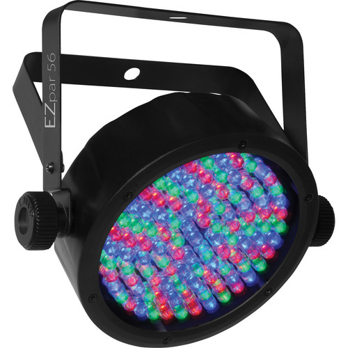 CHAUVET PROFESSIONAL EZpar 56 Washlight with Power Cord and Infrared Remote Control