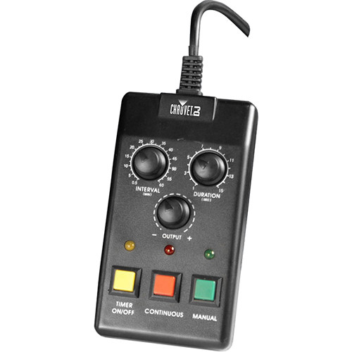 CHAUVET DJ FC-T Timer Remote Control for Select CHAUVET Fog Machines (15' Cable)