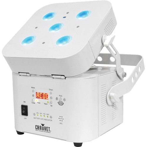 CHAUVET Freedom Par Quad-5 with White Housing
