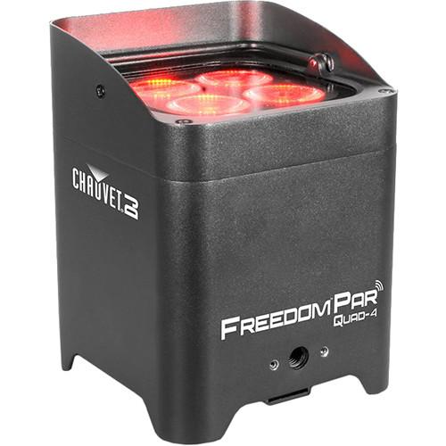 CHAUVET DJ Freedom Par Quad-4 LED Light (Black)