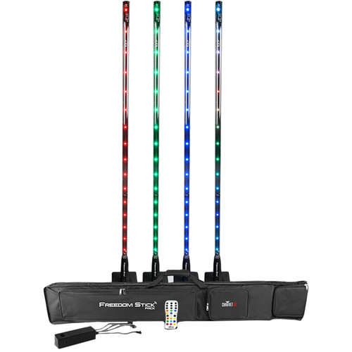 CHAUVET Freedom Stick RGB LED Fixture (4-Pack)