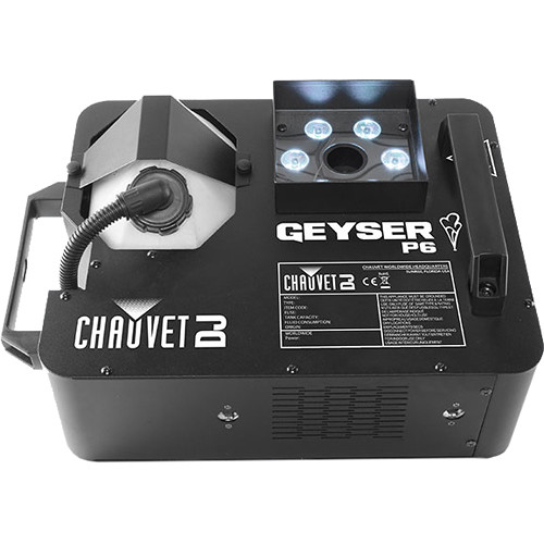CHAUVET Geyser P6 - RGBA+UV LED Effect Fog Machine