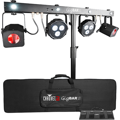 CHAUVET DJ GigBAR LT - Pack-n-Go Series 3-in-1 Lighting Effect System