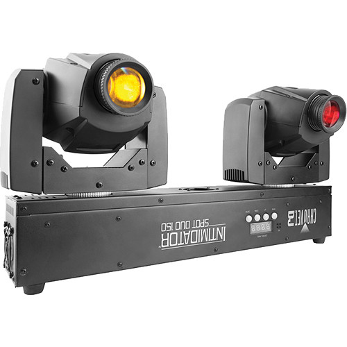 CHAUVET DJ Intimidator Spot Duo 150 LED Moving Head Fixture