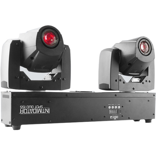 CHAUVET DJ Intimidator Spot Duo 155 - Compact Dual LED Moving Heads