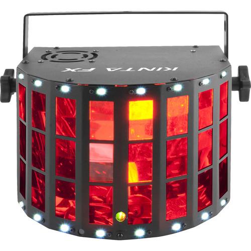 CHAUVET DJ Kinta FX - RGBW LED Derby / Laser / LED Strobe Multi-Effect Fixture