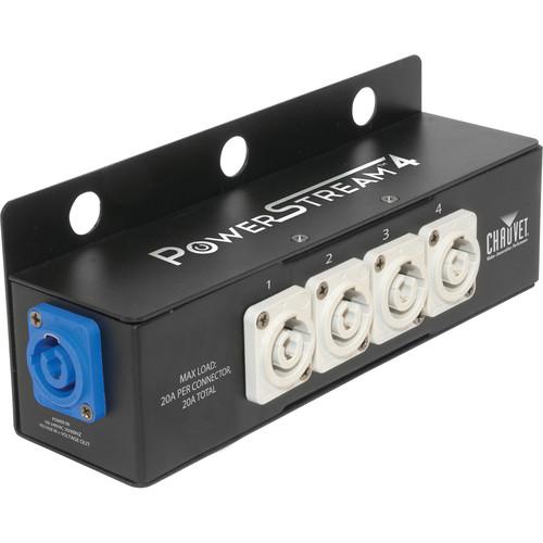 CHAUVET PROFESSIONAL PowerStream 4 - powerCON Splitter