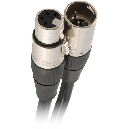 CHAUVET PROFESSIONAL 4-Pin XLR to 4-Pin XLR Extension Cable (50')