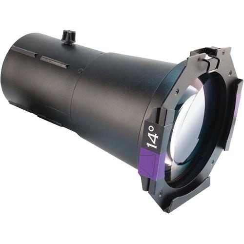 CHAUVET PROFESSIONAL Ovation Ellipsoidal HD Lens Tube (14°, Black)
