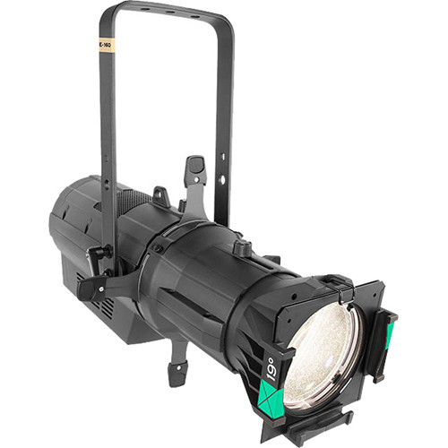 CHAUVET PROFESSIONAL Ovation E-160WW Ellipsoidal LED Fixture (50° Lens, 3031K, Black)