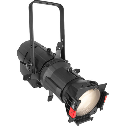 CHAUVET PROFESSIONAL Ovation E-260WW IP Ellipsoidal LED Outdoor Fixture (50° Lens, 3149K, Black)