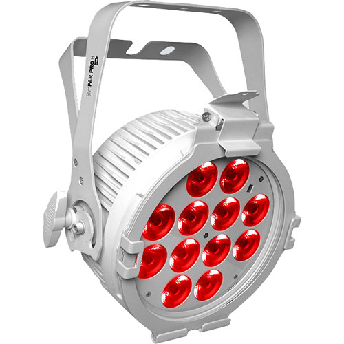 CHAUVET DJ SlimPAR Pro H USB Low-Profile RGBAW+UV LED PAR (White)