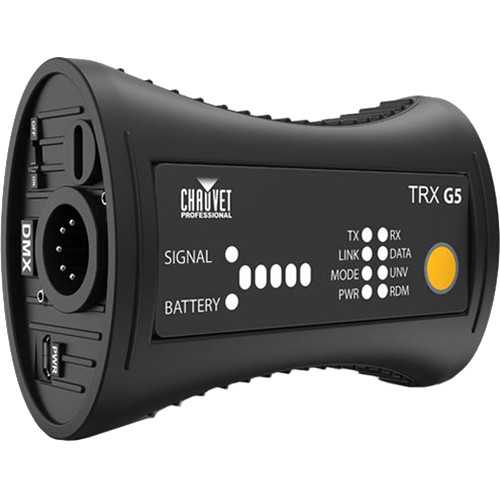 CHAUVET PROFESSIONAL WDMX Micro T-1 TRX G5 Wireless Battery-Powered DMX / RDM Transceiver