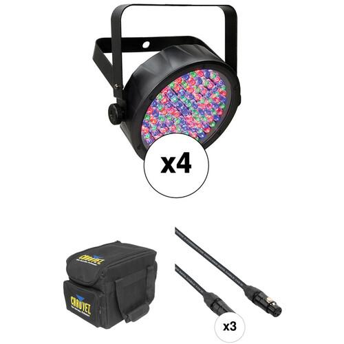 CHAUVET DJ SlimPAR 56 LED Quad Kit