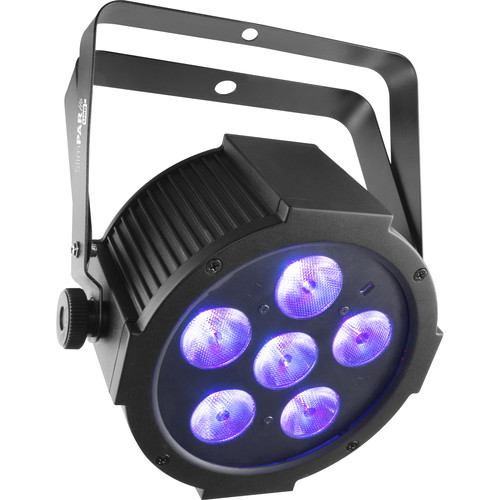CHAUVET DJ SlimPAR H6 USB - Wireless DMX RGBAW+UV LED Wash Light