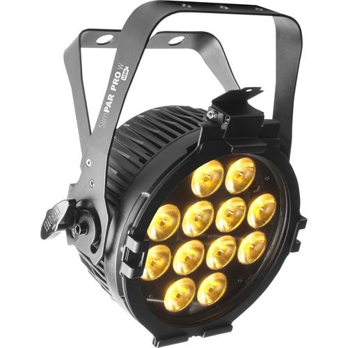 CHAUVET DJ SlimPAR Pro W USB Variable White LED Wash Light (Black)