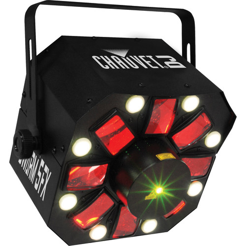 CHAUVET DJ Swarm 5 FX DJ Light with Power Cord