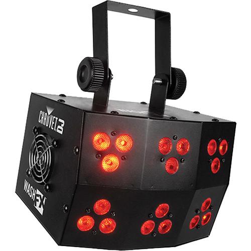 CHAUVET DJ DJ Series Wash FX 4W Light Fixture with 18 Tri-Color LEDs