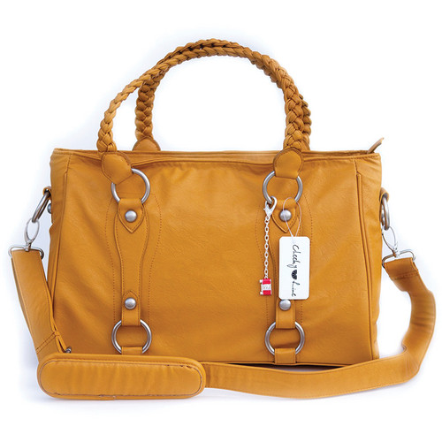 Cheeky Lime Livy Shoulder Bag (Mustard)