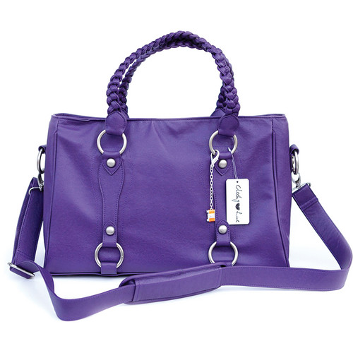 Cheeky Lime Livy Shoulder Bag (Purple)