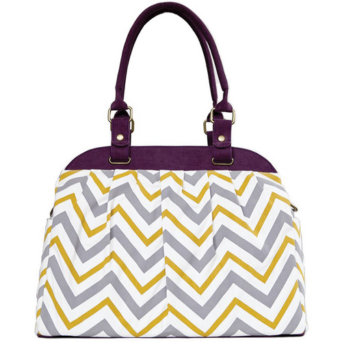 Cheeky Lime Rachel Cave Chevron Shoulder Bag